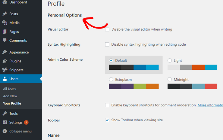 custom css wordpress how to indicate with a highlight current blog post in sidebar