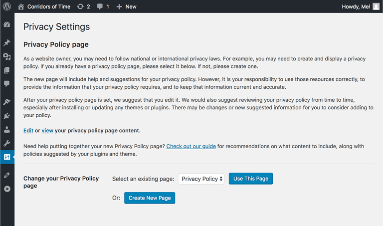 How to Add GDPR Compliant Privacy Policy in WordPress (Step