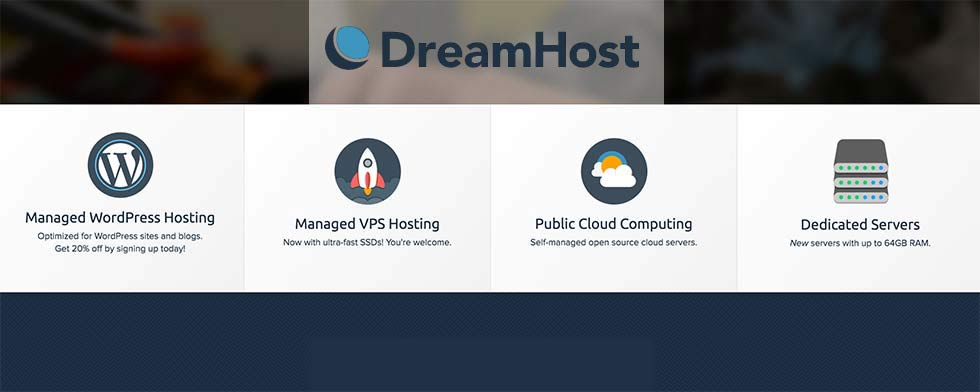 DreamHost review and rating