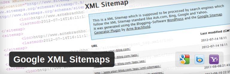 Как создать карту сайта с помощью google xml sitemaps