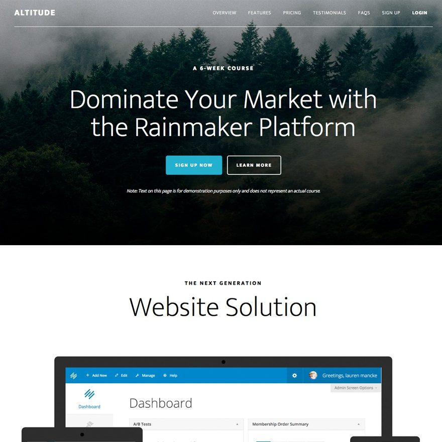 altitude-pro-theme-review