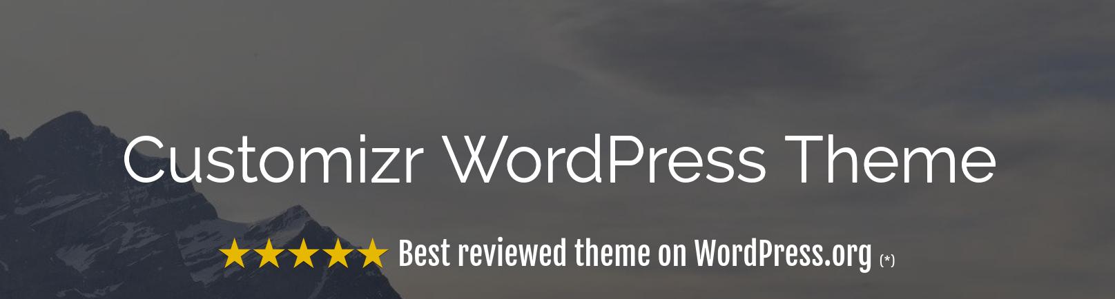 Customizr Review