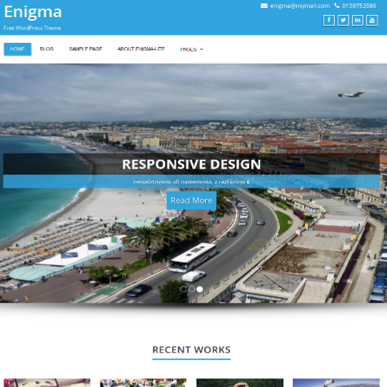 enigma-wordpress-theme-review-ft