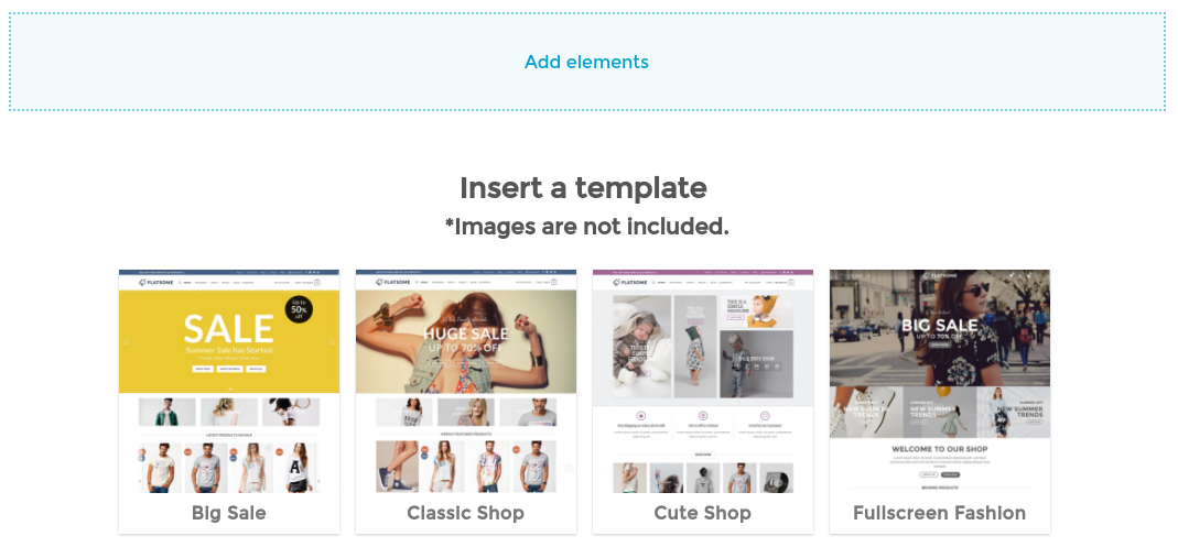 Flatsome Review - frontend editor
