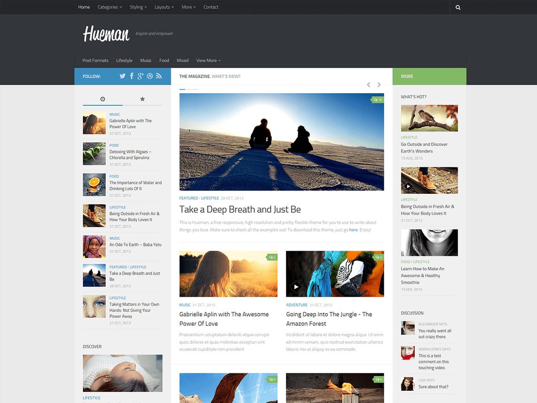 Hueman Review