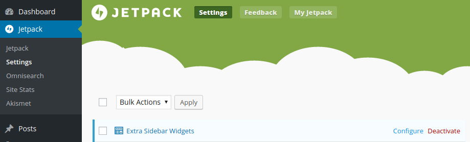 Image Widget Review - jetpack module