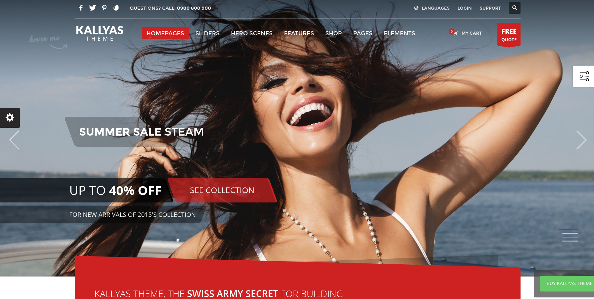 Kallyas WordPress theme review