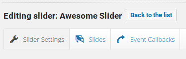 LayerSlider Review - slider settings