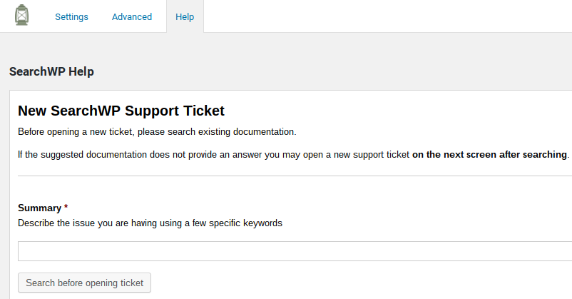SearchWP Review - support