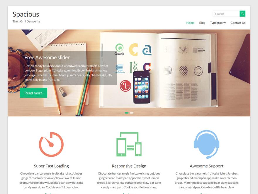 Spacious WordPress Theme Review