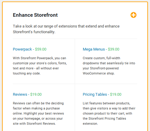 Storefront Review - plugins