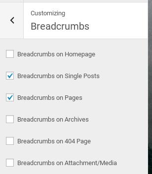 StudioPress Altitude Pro Review - breadcrumbs