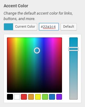StudioPress Altitude Pro Review - color picker