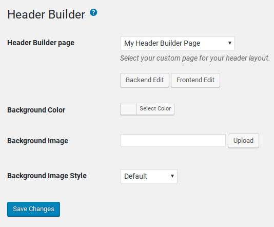 Total Review - header footer builder