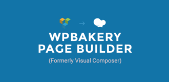 wpbakery page builder - formerly visual composer