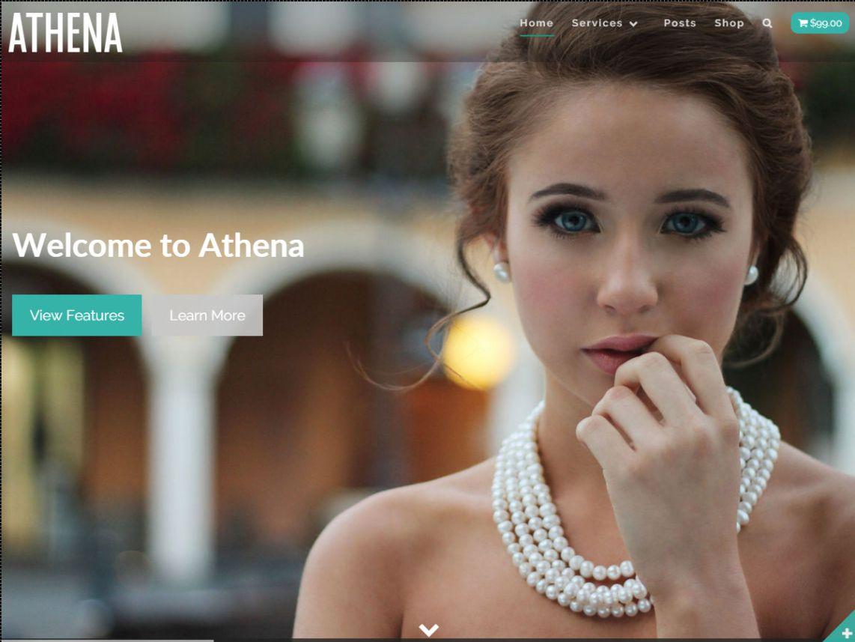 Athena WordPress Theme Review