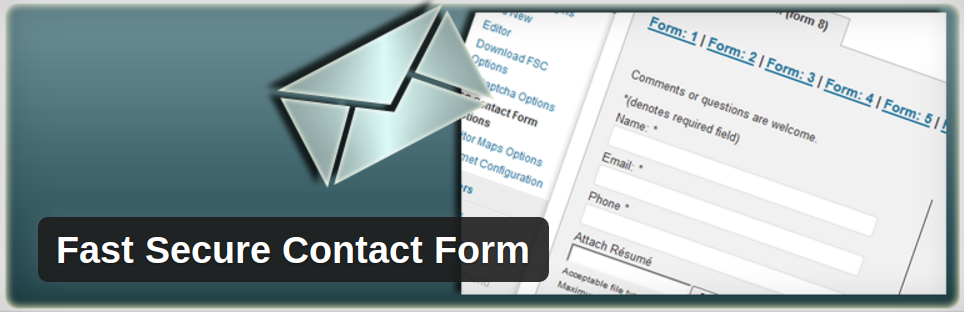 Fast Secure Contact Form WordPress plugin review