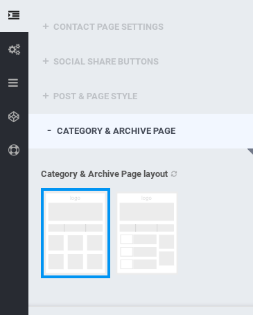 Optimizer Review - category archive layouts