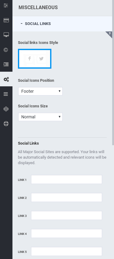 Optimizer Review - social links