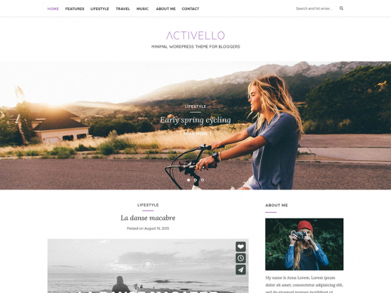Activello Theme Review