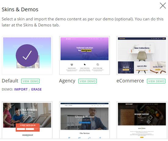 themify ultra demo setup