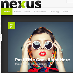 nexus theme featured