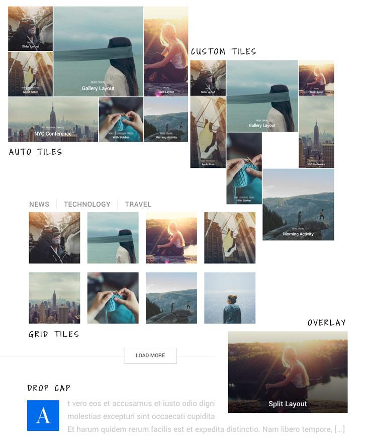 peak archive layouts