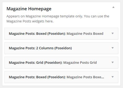 poseidon magazine widget