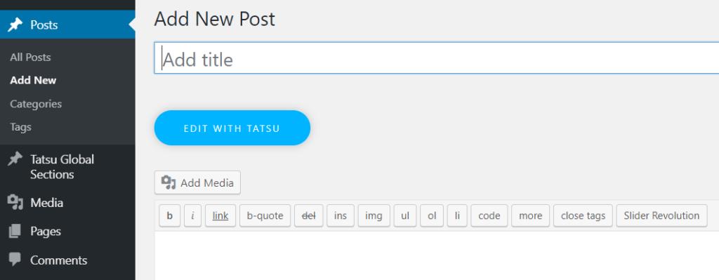 edit with tatsu