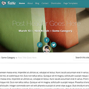 elegant themes fable theme review featured