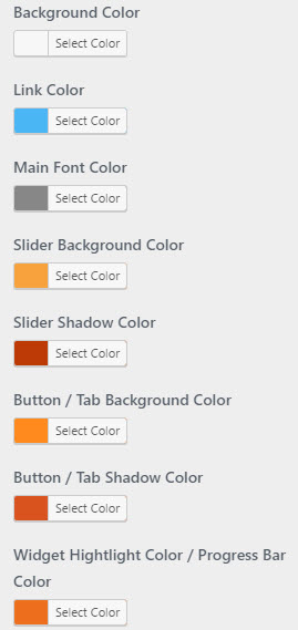 flexible unlimited color options