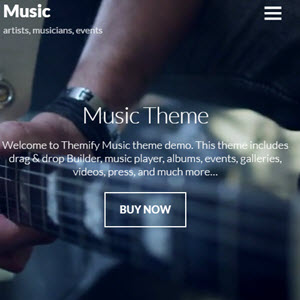 themify music featured