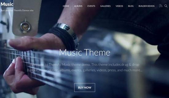 themify music screenshot