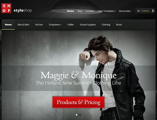 elegant themes styleshop review