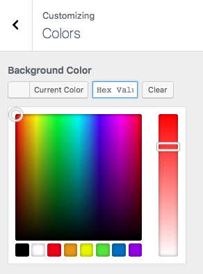 StudioPress Parallax Pro Review - Color Picker