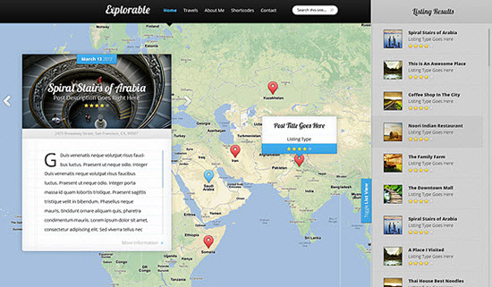 elegant themes explorable review