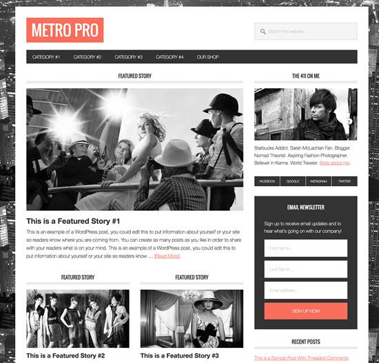 studiopress metro pro review