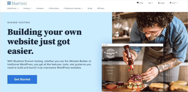 bluehost web hosting plans