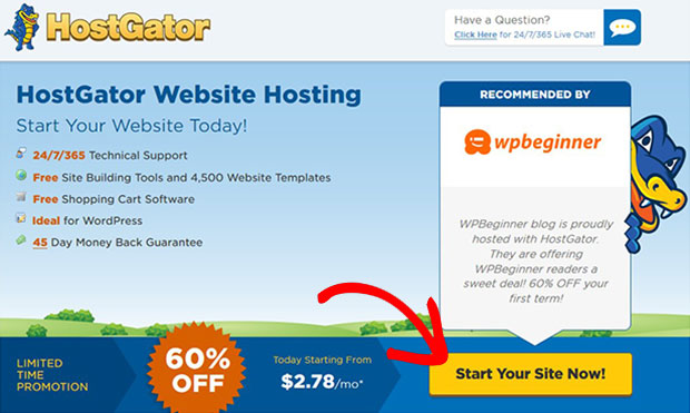 Start Your Site