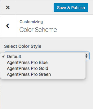 AgentPress Pro Review Color Scheme