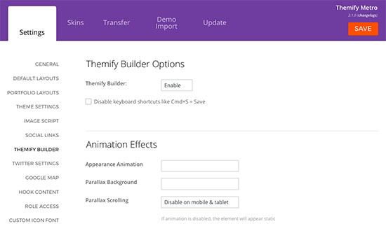 Themify Metro Review - Themify Builder