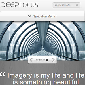 deepfocus theme featured