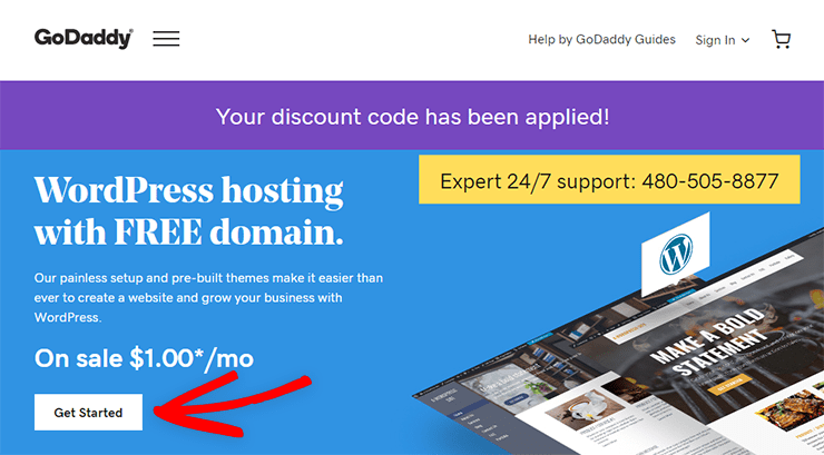 godaddy hosting coupon code