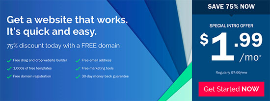 Ipage coupon code get 75 off free domain special it will open a new page where you need to enter your domain name and hit the check availability button the domain is free with the isitwp deal fandeluxe Choice Image