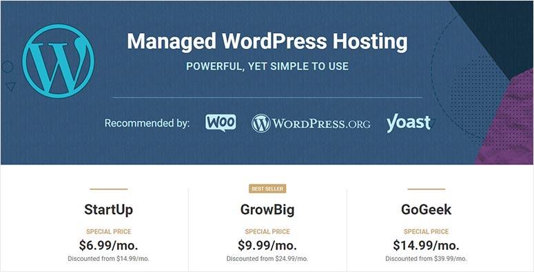Managed SiteGround Hosting