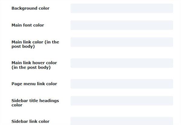 Colors Fields
