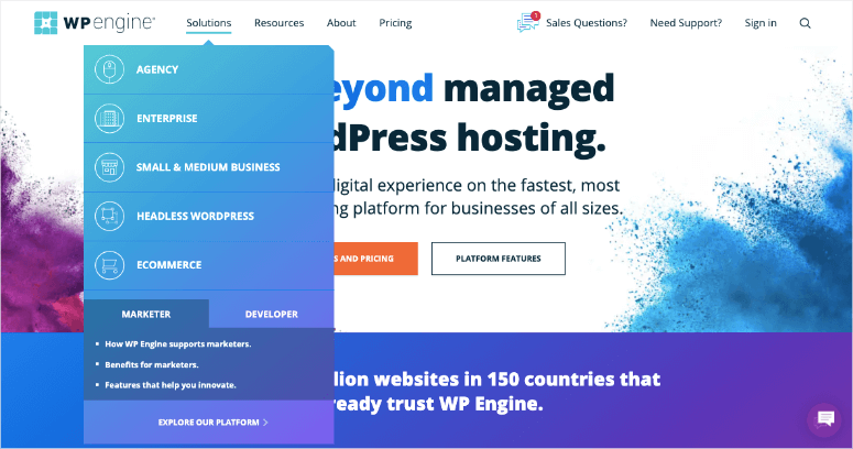 wpengine agency solutions