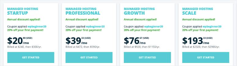 wpengine managed hosting