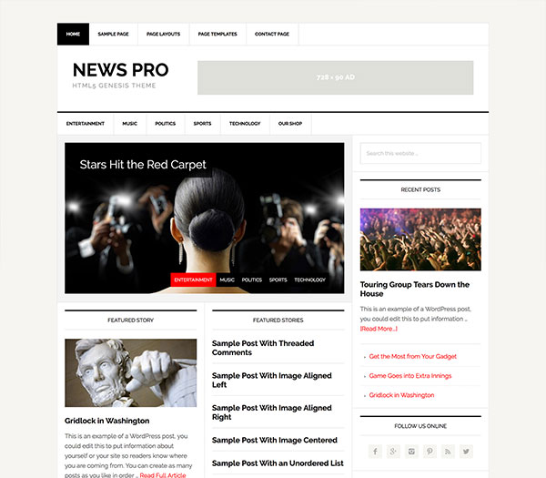StudioPress News Pro Review