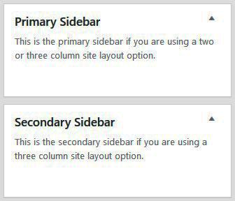 Sidebar Widgets